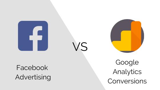 Facebook ads vs google analytics